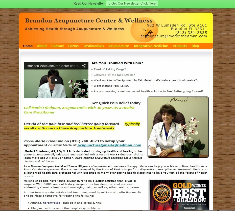 Brandon Acupuncture Center & Wellness