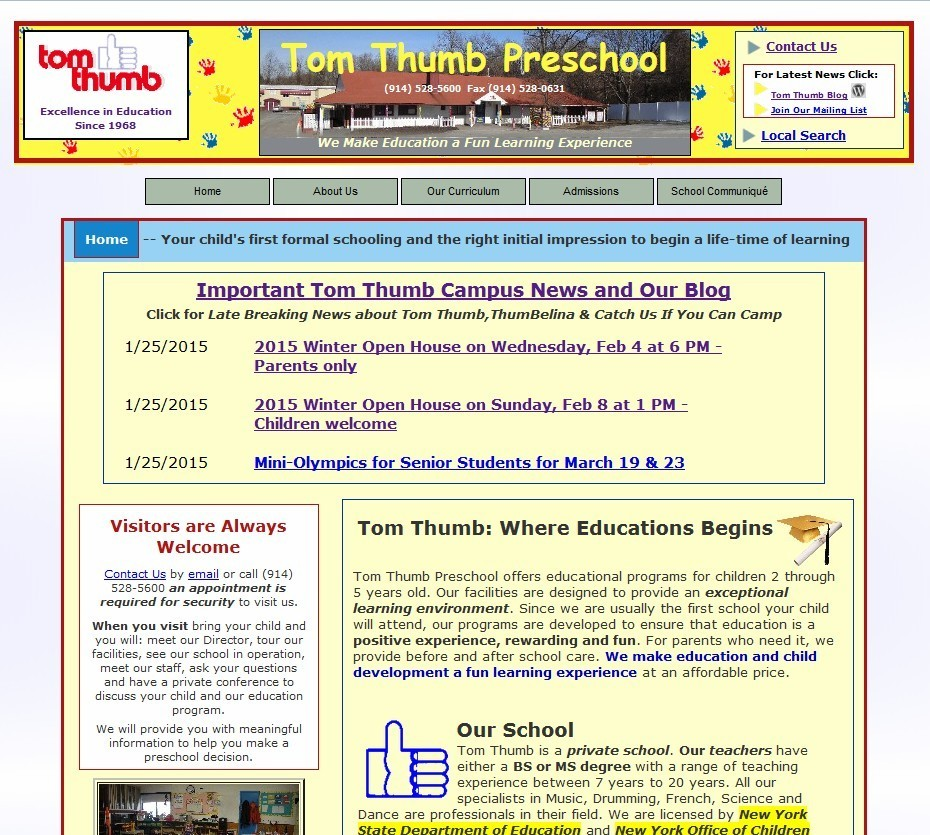 tom thumb preschool